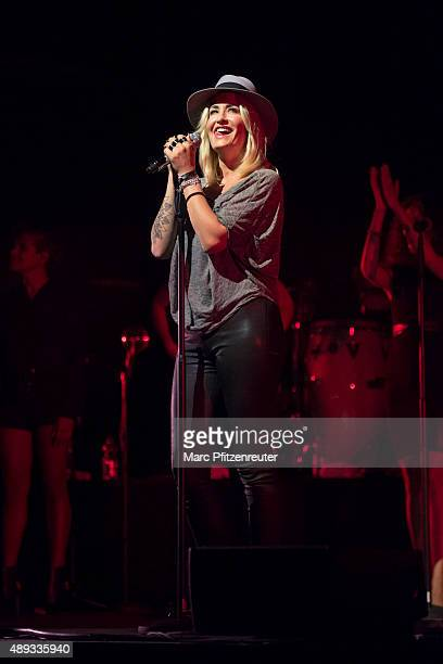 Sarah Connor performs onstage at the Palladium on September 20 2015 in Cologne Germany