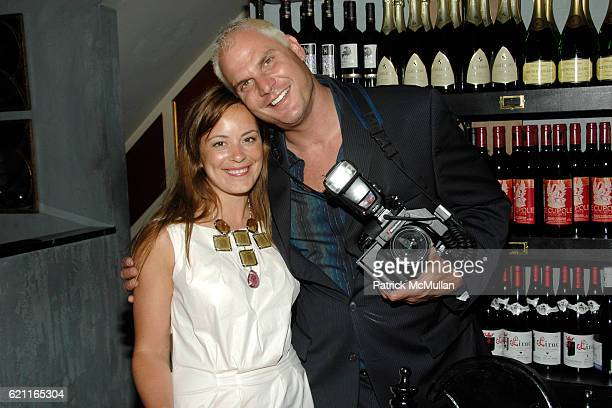 Sarah Cristobal and Steve Eichner attend HOUSE OF LAVANDE Dinner Hosted by Karen Elson Sarah Sophie Flicker at Bobo on May 28 2008 in New York City