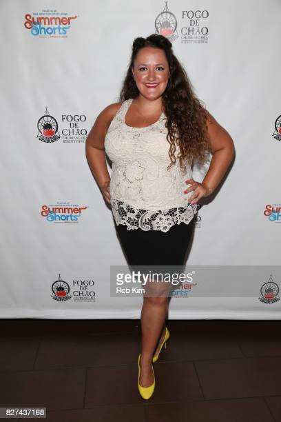 Sarah Cronk attends the OffBroadway opening night party for 'SUMMER SHORTS 2017' at Fogo de Chao Churrascaria on August 7 2017 in New York City