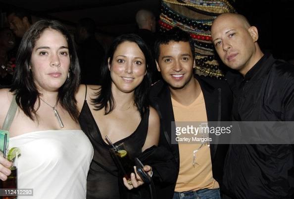 Sarah Cunningham Jessica Schimmel of InTouch Jai Rodriguez and Steve Kasuba