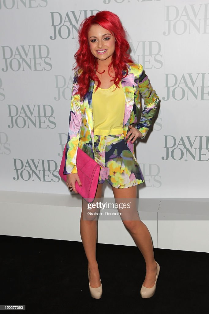 Sarah De Bono attends the David Jones S/S 2012/13 Season Launch at David Jones Castlereagh Street on August 14, 2012 in Sydney, Australia.