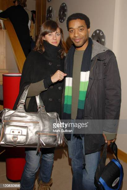 Sarah Douglas and Chiwetel Ejiofor during 2006 Sundance Film Festival Volkswagen Lounge Produced by Backstage Creations at VW Lounge in Park City...