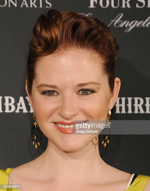 Sarah Drew arrives at the 17th Annual BAFTA Los Angeles Awards Season Tea Party at the Four Seasons Hotel on January 15 2011 in Los Angeles California