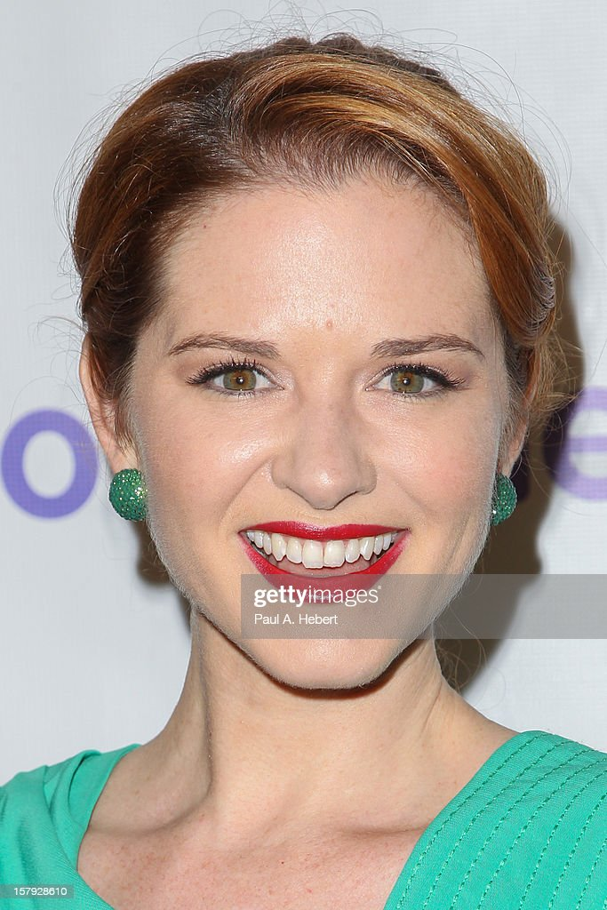 Sarah Drew arrives at the March Of Dimes' Celebration Of Babies held at the Beverly Hills Hotel on December 7, 2012 in Beverly Hills, California.