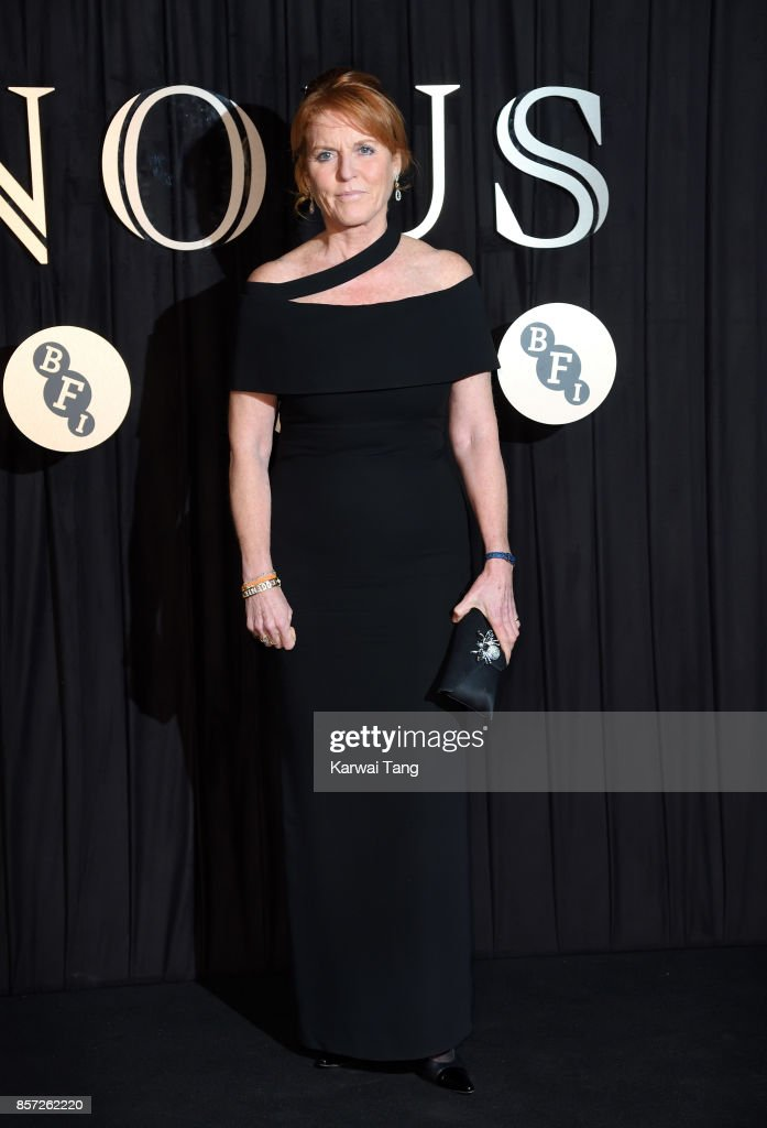 Sarah, Duchess of York attends the BFI Luminous Fundraising Gala at The Guildhall on October 3, 2017 in London, England.