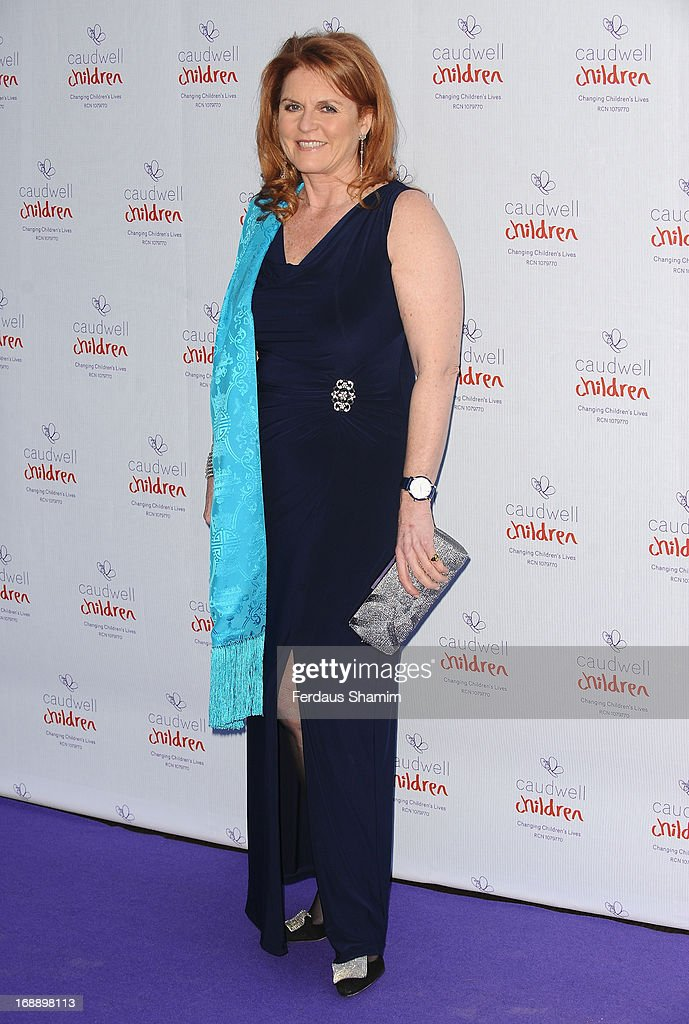 Sarah Duchess of York attends The Butterfly Ball: A Sensory Experience in aid of the Caudwell Children's charity at Battersea Evolution on May 16, 2013 in London, England.