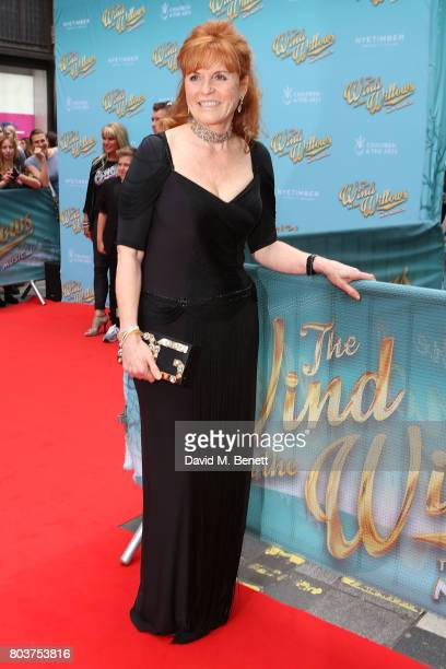 Sarah Duchess of York attends the press night performance of 'The Wind In The Willows' at the London Palladium on June 29 2017 in London England