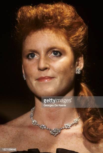 Sarah Duchess of York in Bordeaux France on June 26 1987