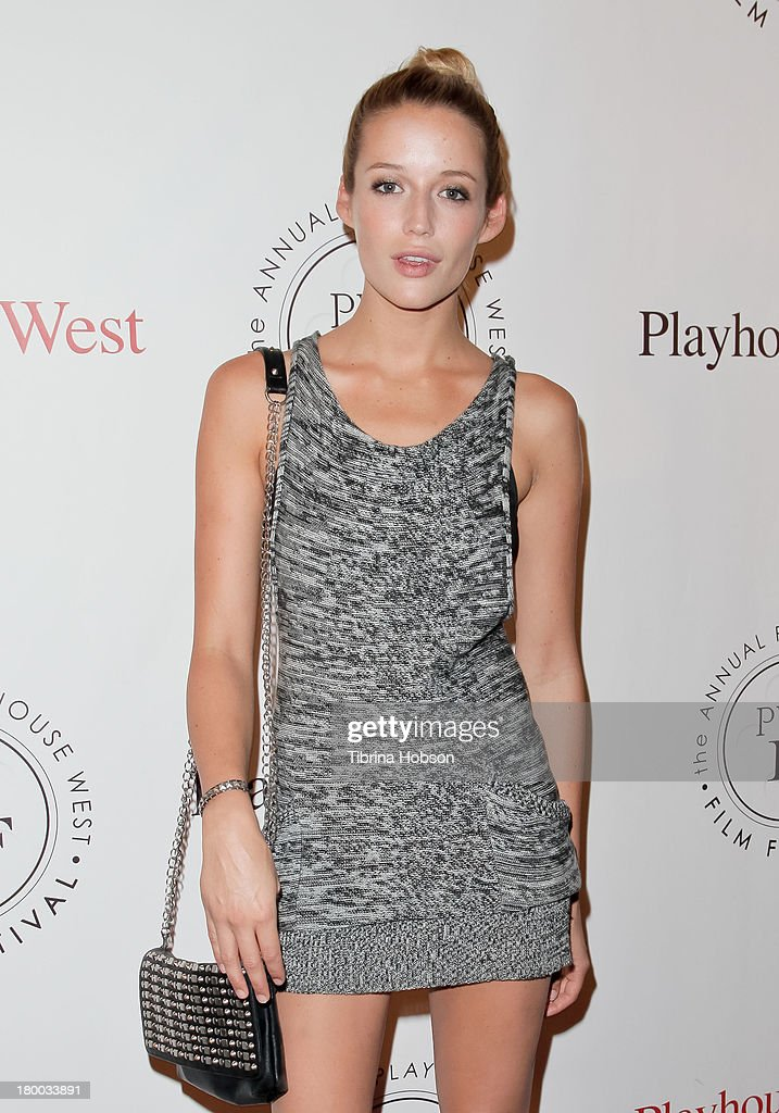 Sarah Dumont attends the 17th annual Playhouse West Film Festival 'Daisy's' premiere at El Portal Theatre on September 7, 2013 in North Hollywood, California.