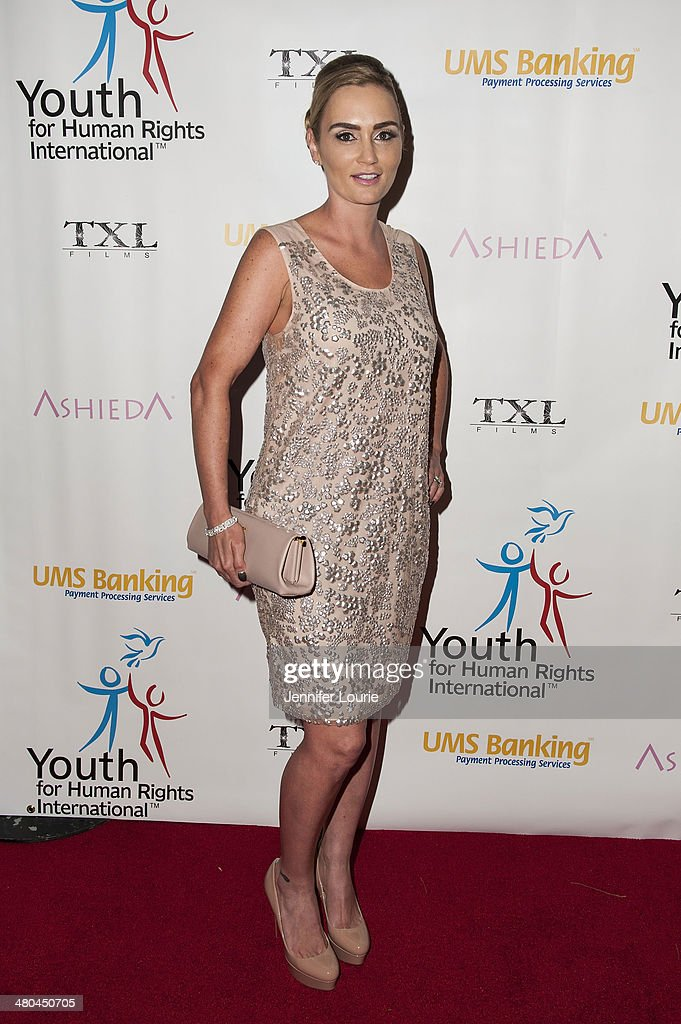 Sarah Ehrlich attends the Youth For Human Rights International Celebrity Benefit Event hosted at the Beso on March 24, 2014 in Hollywood, California.