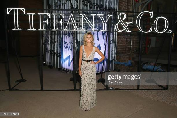Sarah Ellen arrives ahead of the Tiffany Co HardWear Collection Launch on June 1 2017 in Sydney Australia