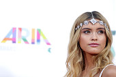 Sarah Ellen arrives at the 28th Annual ARIA Awards 2014 at the Star on November 26 2014 in Sydney Australia