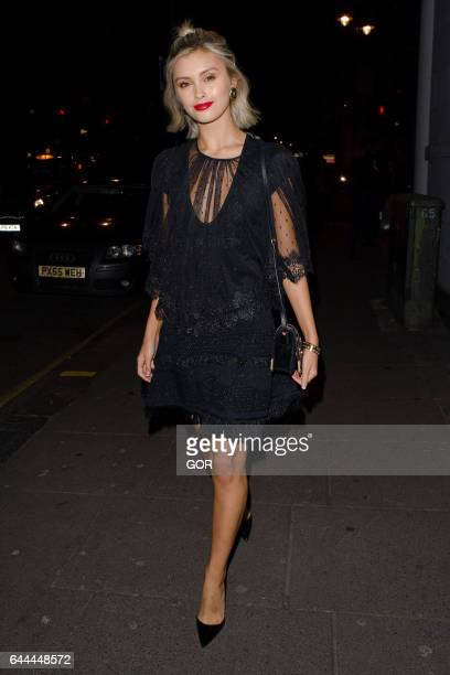 Sarah Ellen attending Alice McCall VIP dinner on February 23 2017 in London England