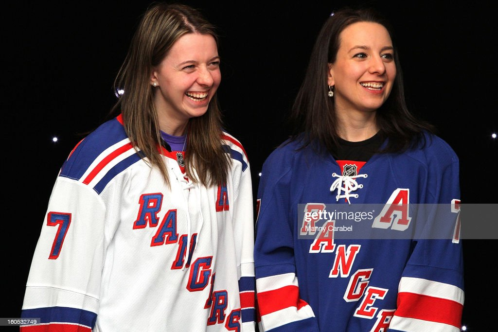 Sarah & <a gi-track='captionPersonalityLinkClicked' href=/galleries/search?phrase=Emily+Hughes&family=editorial&specificpeople=274756 ng-click='$event.stopPropagation()'>Emily Hughes</a> attend The New York Rangers 19th Annual 'Skate With The Greats' Event Benefiting The Ronald McDonald House New York at The Rink at Rockefeller Center on February 1, 2013 in New York City.