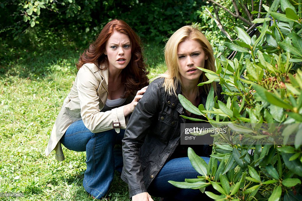 HAVEN -- 'Sarah' Episode 309 -- Pictured: (l-r) Bree Williamson as Claire Callahan, Emily Rose as Audrey Parker --