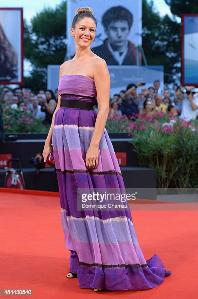 Sarah Felberbaum attends the 'Hungry Hearts' premiere during the 71st Venice Film Festival on August 31 2014 in Venice Italy