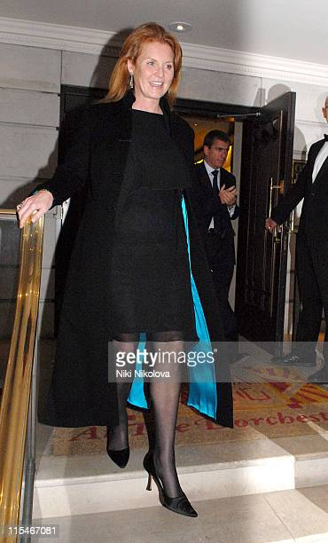 Sarah Ferguson and Prince Andrew during Prince Andrew and Sarah Ferguson Sighting at China Tang January 15 2007 at China Tang in London Great Britain
