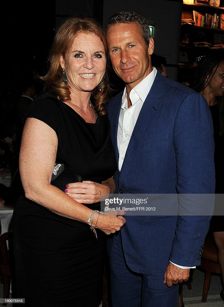 Sarah Ferguson, Duchess of York (L) and Vladislav Doronin attend as Naomi Campbell hosts an Olympic Celebration Dinner in partnership with Fashion For Relief, Interview Magazine and Downtown Mayfair celebrating the amazing accomplishments of Team GB on August 9, 2012 in London, United Kingdom. Guest joined event hosts Naomi, Vladislav Doronin and Giuseppe Cipriani at London's Downtown Mayfair. 'The 2012 Olympics have been remarkable - I am elated for Team GB and the extraordinary success they have had so far. It's a very special and proud time to be in London and to celebrate the outstanding talent, which has been showcased during the games. I wish everyone taking part in London 2012 continued strength, determination and perseverance for the remainder of the games.'
