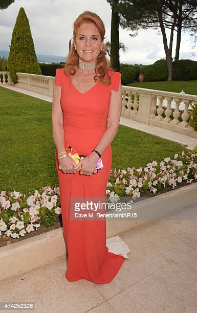 Sarah Ferguson Duchess of York arrives at amfAR's 22nd Cinema Against AIDS Gala Presented By Bold Films And Harry Winston at Hotel du CapEdenRoc on...