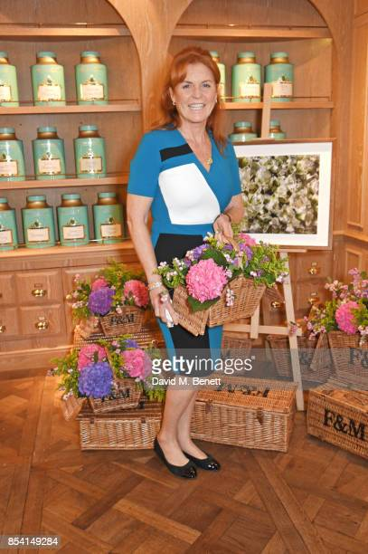 Sarah Ferguson Duchess of York attends the 4th annual Ladies' Lunch in support of the Silent No More Gynaecological Cancer Fund at Fortnum Mason on...