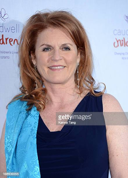 Sarah Ferguson Duchess of York attends The Butterfly Ball A Sensory Experience in aid of the Caudwell Children's charity at Battersea Evolution on...