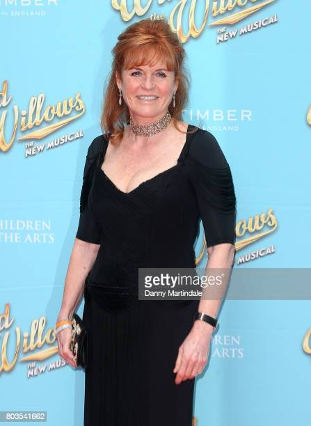 Sarah Ferguson Duchess of York attends the Gala performance of 'Wind In The Willows' at London Palladium on June 29 2017 in London England