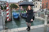 Sarah Ferguson Visits Flooded Zones In Venice