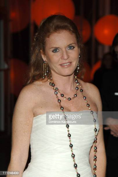 Sarah Ferguson during 65th Annual American Ballet Theatre Spring Gala at Lincoln Center in New York City New York United States
