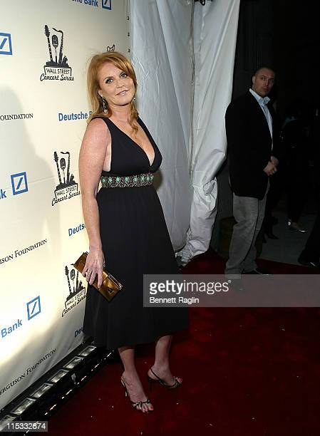 Sarah Ferguson during Pussycat Dolls and Snoop Dogg Live to Benefit UNICEF and Sarah Ferguson Foundation April 17 2007 at Cipriani Wall Street in New...