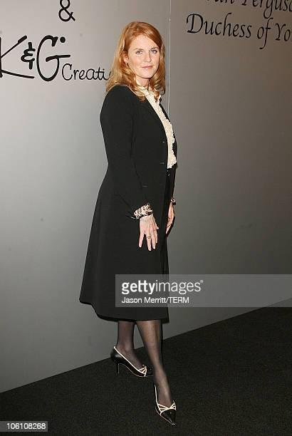 Sarah Ferguson during Sarah Ferguson Unveils Moissanite Jewelry Line November 3 2006 at Bloomingdale's Westfield Century City Mall in Century City...