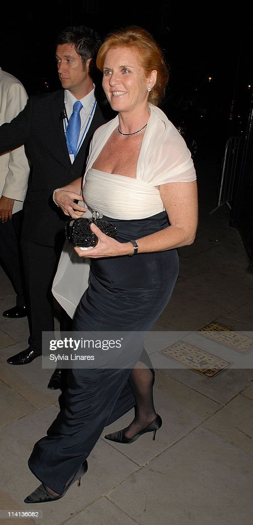 Sarah Ferguson sighting at The Banqueting House on May 12, 2011 in London, England.