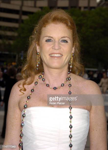 Sarah Ferguson the Duchess of York during 65th Annual American Ballet Theatre Spring Gala at The Metropolitan Opera House at Lincoln Center in New...