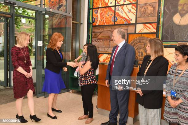 Sarah Ferguson The Duchess of York meets heart condition survivors and scientists at the British Heart Foundation and is appointed as an official...