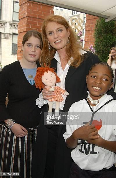 Sarah Ferguson The Duchess of York Princess Eugenie and PJ Allen