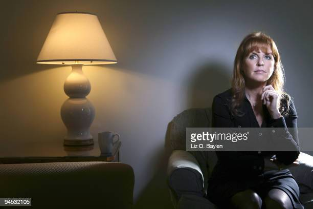 Sarah Ferguson the Dutchess of York poses for a portrait session for the Los Angeles Times on September 22 Beverly Hills CA Published Image CREDIT...
