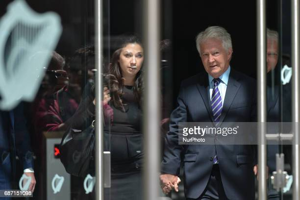 Sarah Fitzpatrick and her father Sean Fitzpatrick leave the Court after Sean Fitzpatrick was acquitted on all counts after direction of trial judge...