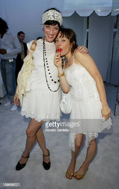 Sarah Flicker and Natasha Wagner during Dior Dance for Life to Benefit the Aaliyah Memorial Fund a Program of the Entertainment Industry Foundation...