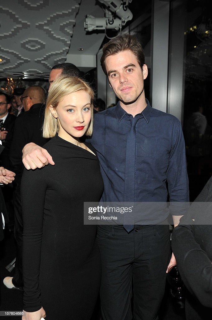 Sarah Gadon and Matt Hannam attend Canada's Top Ten Announcement/Press Conference at TIFF Bell Lightbox on December 4, 2012 in Toronto, Canada.