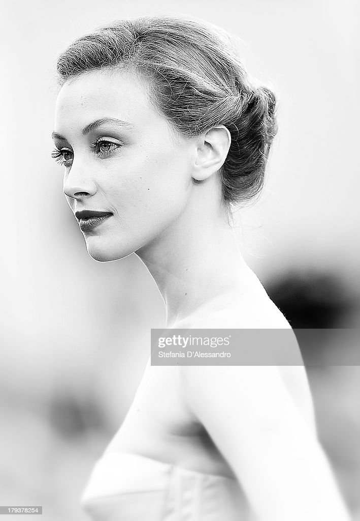 Sarah Gadon attends 'Joe' Premiere at the 70th Venice International Film Festival on August 30, 2013 in Venice, Italy.