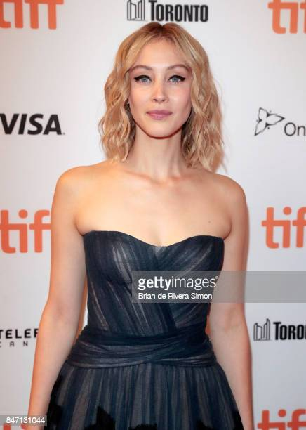 Sarah Gadon attends the 'Alias Grace' premiere during the 2017 Toronto International Film Festival at Winter Garden Theatre on September 14 2017 in...