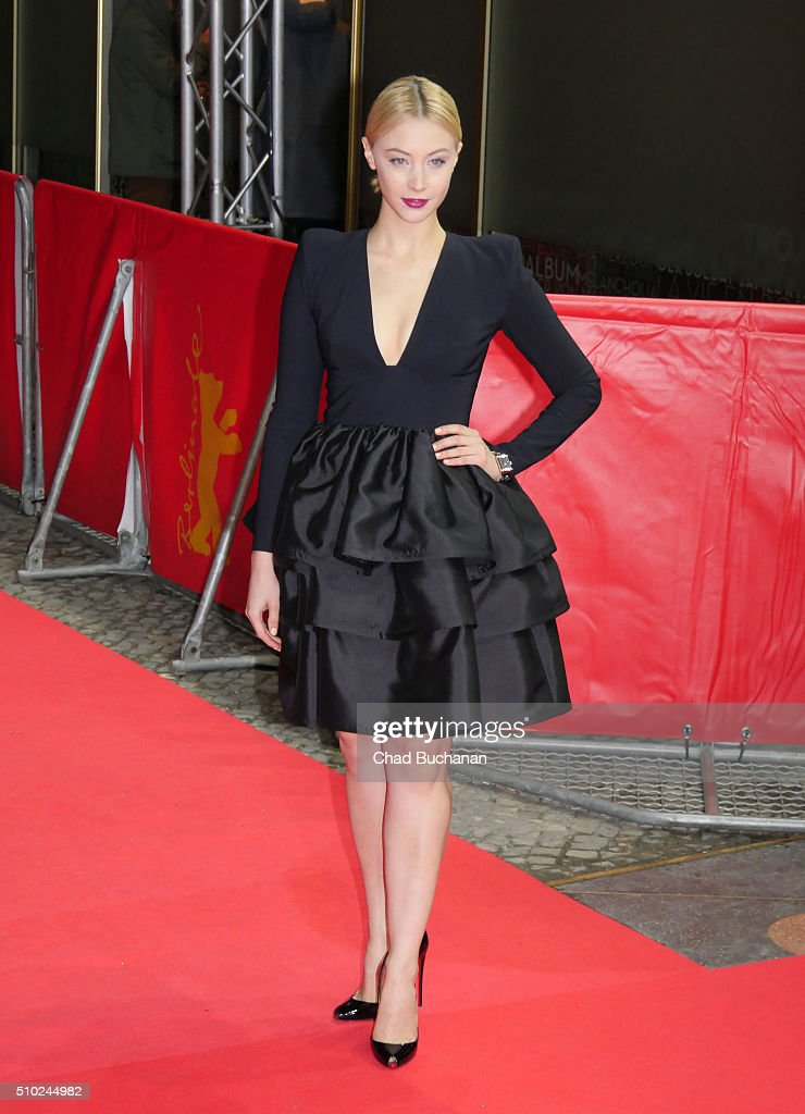 <a gi-track='captionPersonalityLinkClicked' href=/galleries/search?phrase=Sarah+Gadon&family=editorial&specificpeople=6606524 ng-click='$event.stopPropagation()'>Sarah Gadon</a> attends the 'Indignation' premiere during the 66th Berlinale International Film Festival Berlin at Zoo Palast on February 14, 2016 in Berlin, Germany.