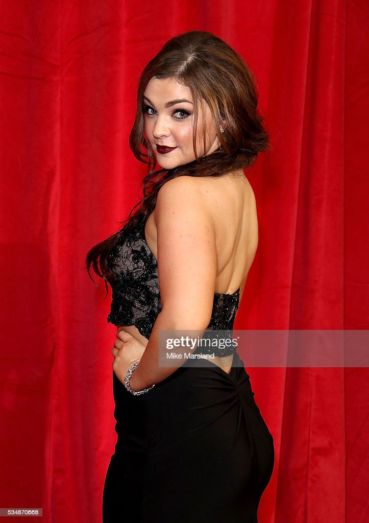 Sarah George attends the British Soap Awards 2016 at Hackney Empire on May 28, 2016 in London, England.