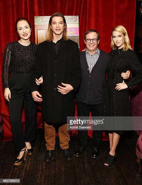 Sarah Goldberg Craig Horner Tom Calderone President of VH1 and Laura Ramsey attend Entertainment Weekly And VH1 Host A Special Screening Of VH1's New...
