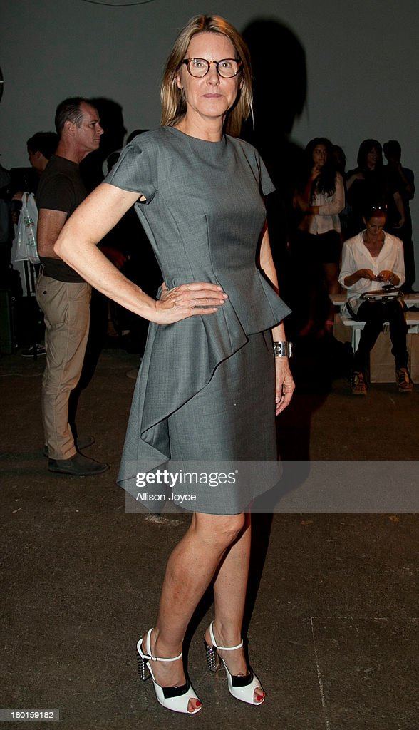 Sarah Gore-Reeves attends the Zero + Maria Cornejo fashion show during Mercedes-Benz Fashion Week Spring 2014 at Eyebeam on September 9, 2013 in New York City.
