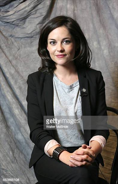 Sarah Greene attends the 2014 Tony Awards Meet the Nominees Press Junket at the Paramount Hotel on April 30 2014 in New York City
