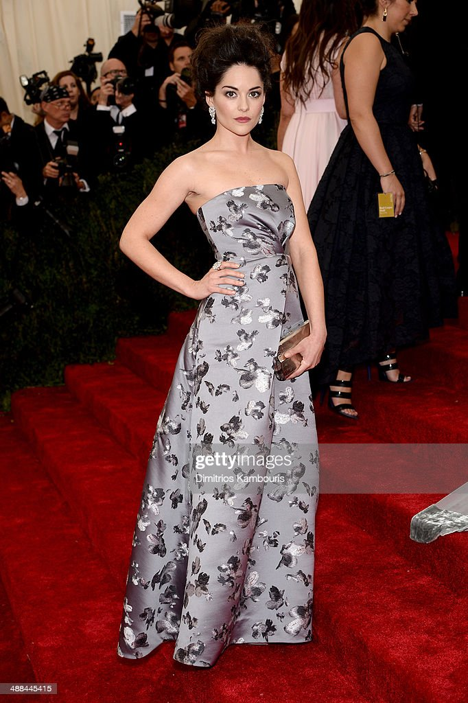 Sarah Greene attends the 'Charles James: Beyond Fashion' Costume Institute Gala at the Metropolitan Museum of Art on May 5, 2014 in New York City.