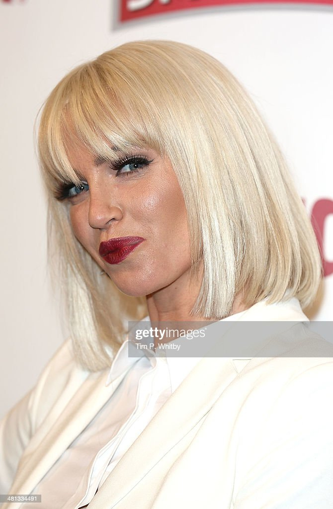 <a gi-track='captionPersonalityLinkClicked' href=/galleries/search?phrase=Sarah+Harding&family=editorial&specificpeople=202916 ng-click='$event.stopPropagation()'>Sarah Harding</a> attends the 20th birthday party of Attitude Magazine at The Grosvenor House Hotel on March 29, 2014 in London, England.