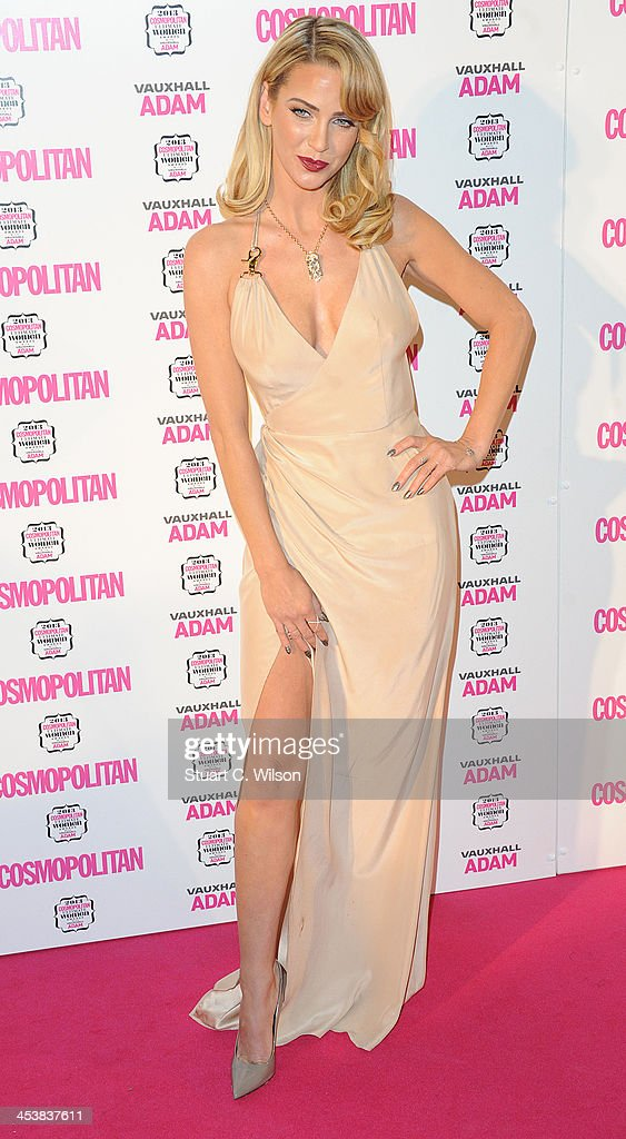 Sarah Harding attends the Cosmopolitan Ultimate Women of the Year Awards at Victoria & Albert Museum on December 5, 2013 in London, England.