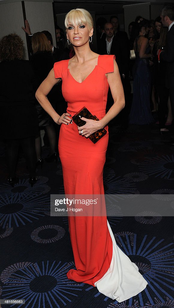 Sarah Harding attends the Jameson Empire Film Awards 2014, at The Grosvenor House Hotel on March 30, 2014 in London, England.