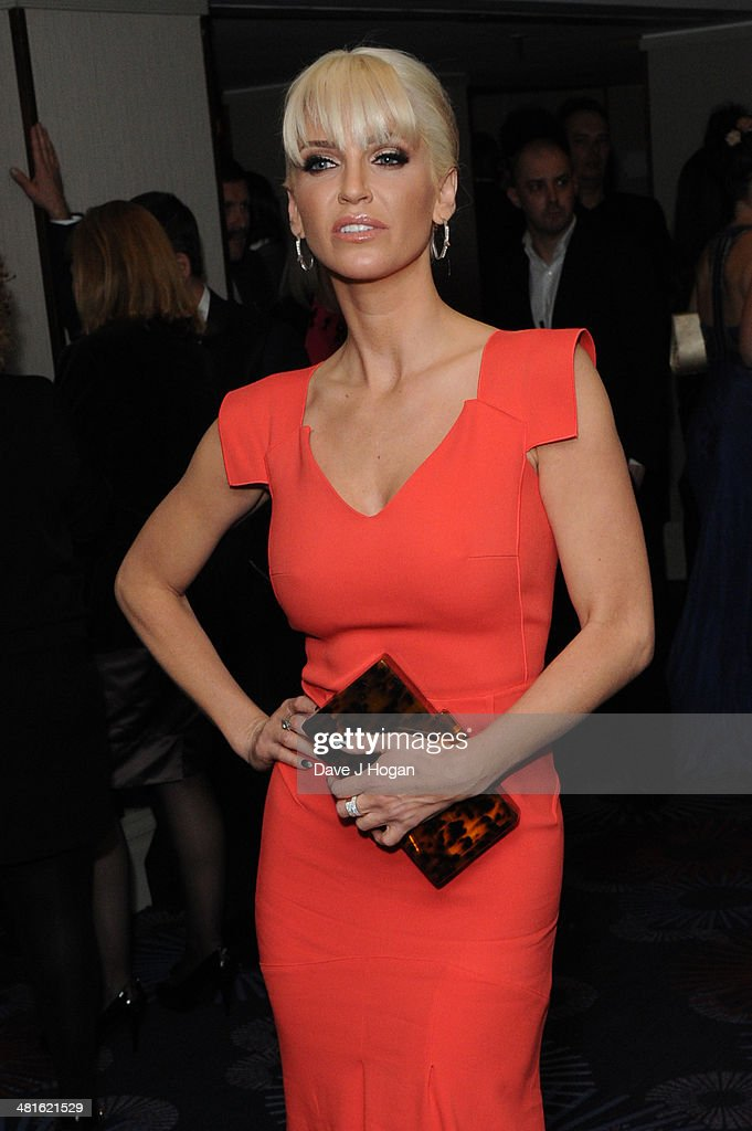 <a gi-track='captionPersonalityLinkClicked' href=/galleries/search?phrase=Sarah+Harding&family=editorial&specificpeople=202916 ng-click='$event.stopPropagation()'>Sarah Harding</a> attends the Jameson Empire Film Awards 2014 at The Grosvenor House Hotel on March 30, 2014 in London, England.